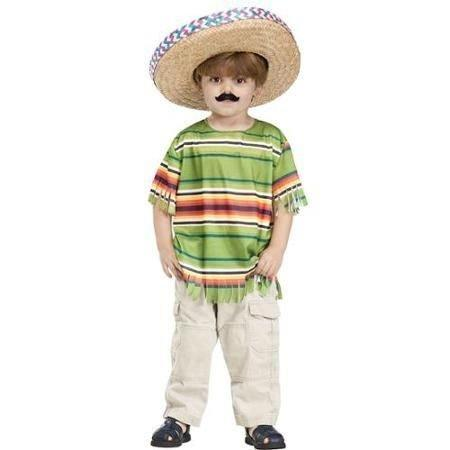 """<p>Want your kid to have a good time this Halloween? Walmart's got you covered. The""""Little Amigo"""" costume, which comes with aserape striped shirt, straw hat, and mustache, basically guarantees just that. """"Let the Fiesta begin for your little one in our Little Amigo Costume!"""" After the Internet caught wind of the offering, the superstore removed it from its shelves.</p>"""