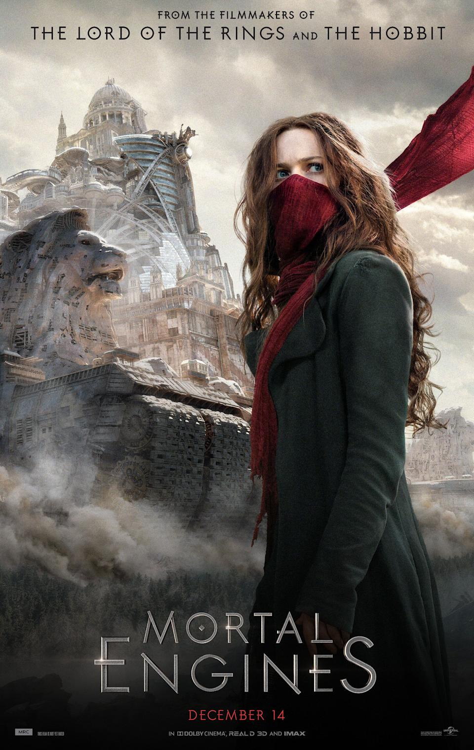 Peter Jackson's name was all over the marketing of <i>Mortal Engines</i>, which tanked at the box office. (Universal)