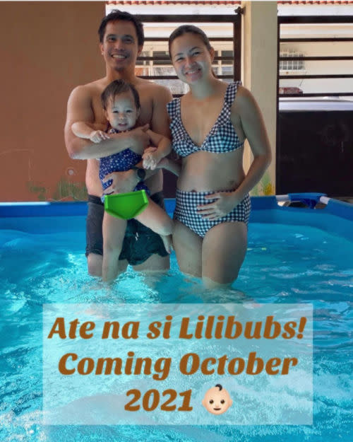 Sitti is elated to share the good news of her pregnancy and showed off her baby bump.