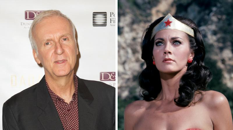 Lynda Carter Tells 'Poor Soul' James Cameron To Stop Dissing 'Wonder Woman'
