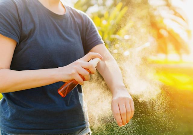 From Zika-carrying mosquitos to Lyme-carrying ticks, a reliable bug repellent is a must for the summer season. (Photo: Getty Images)
