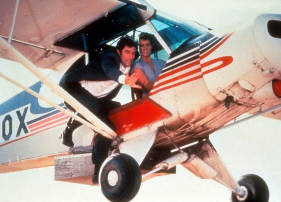 Timothy Dalton and Carey Lowell in 'Licence to Kill' (1989) (Rex)