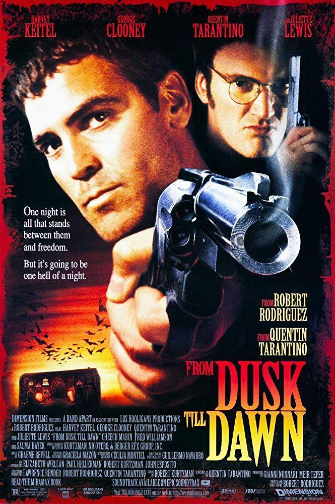 """<p><a class=""""link rapid-noclick-resp"""" href=""""https://www.amazon.com/Dusk-Till-Dawn-Quentin-Tarantino/dp/B009JZTQOS/?tag=syn-yahoo-20&ascsubtag=%5Bartid%7C10050.g.22103622%5Bsrc%7Cyahoo-us"""" rel=""""nofollow noopener"""" target=""""_blank"""" data-ylk=""""slk:STREAM NOW"""">STREAM NOW</a><br></p><p>George Clooney, <span class=""""redactor-unlink"""">Quentin Tarantino</span>, and <span class=""""redactor-unlink"""">Salma Hayek</span> star in this action-packed thriller about two criminals who must survive one night at a dangerous truck stop brimming with vampires.</p>"""