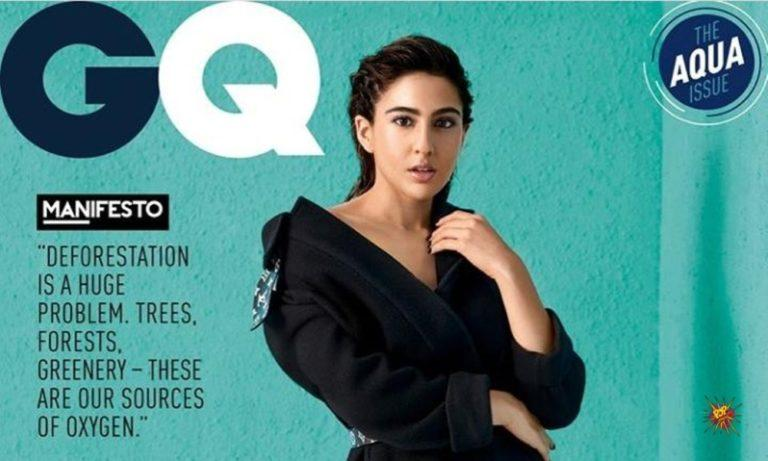 Sara Ali Khan shines bright on the cover of a leading magazine with the title of 'Breakthrough Talent of The Year'