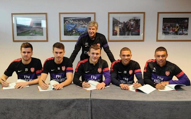 Arsene Wenger insists British core remains pivotal to his Arsenal vision, with trio in line for new deals