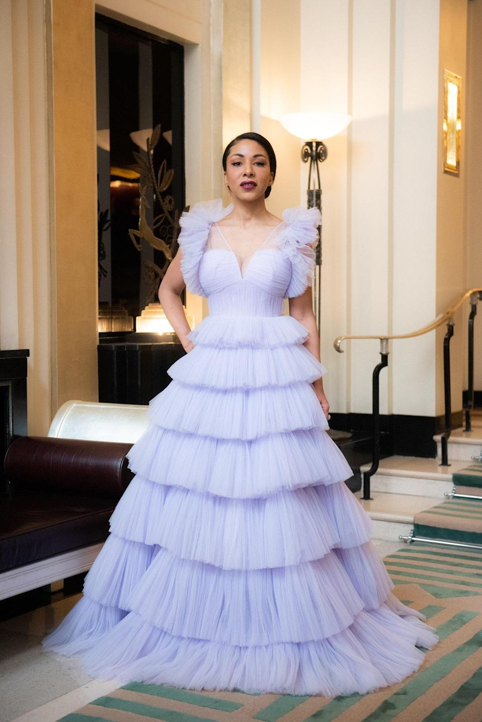"""<h1 class=""""title"""">Celebrities Red Carpet Looks For The 27th Annual Screen Actors Guild Awards</h1><cite class=""""credit"""">Blake Ezra</cite>"""