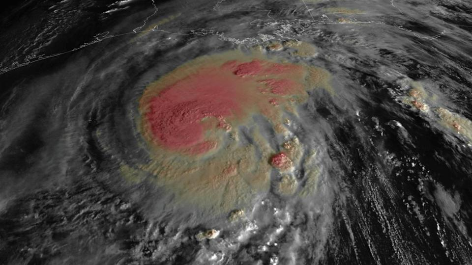 Remarkable Hurricane Zeta makes landfall in U.S. as Category 2 storm