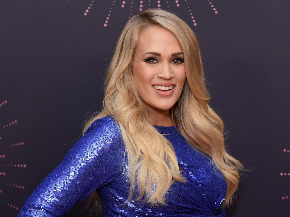 Carrie Underwood said reading those comments read to a not-so-healthy cycle of overeating and undereating.