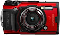 <p><span>Olympus Tough TG-6 Waterproof Camera in Red</span> ($349, originally $449)</p>