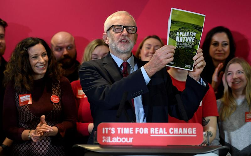 Jeremy Corbyn's Labour Party has been slowly closing in on the Conservative Party in the polls. - Getty Images Europe