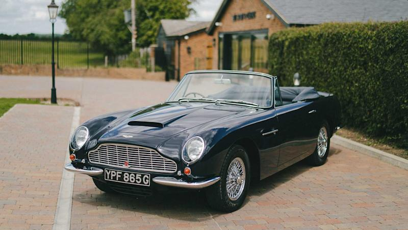 Rare mint Aston Martin DB6 Volante up for sale