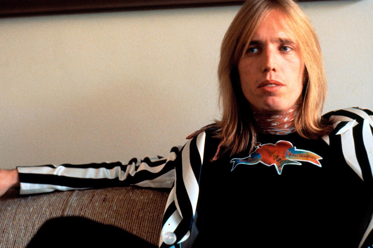 <p>Tom Petty in 1977 in New York City. (Photo: Michael Putland/Getty Images) </p>