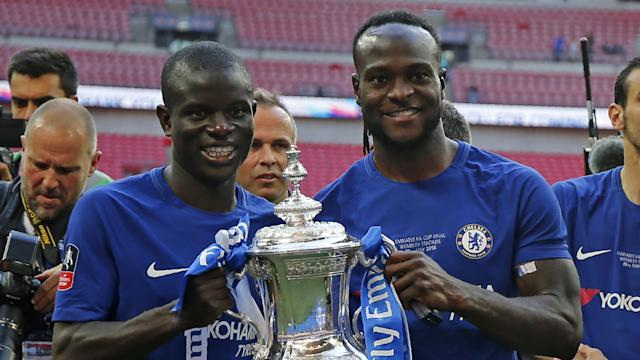 Victor Moses Kante Chelsea FA Cup