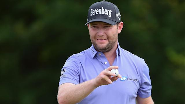 Branden Grace celebrated his 30th birthday in style, making the biggest charge of the final round at the AT&T Byron Nelson.