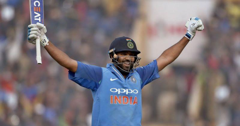 Rohit Sharma has scored 3 double centuries in ODIs.