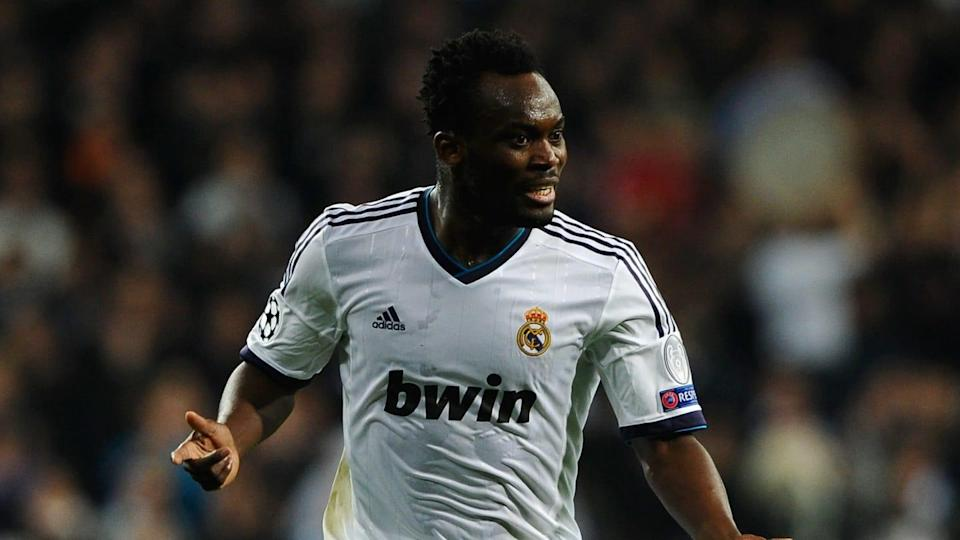 Michael Essien, Real Madrid   Manuel Queimadelos Alonso/Getty Images