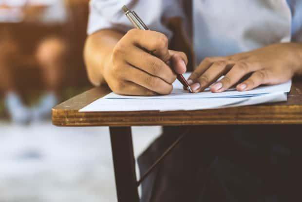 Newfoundland and Labrador's English and French school boards have cancelled public exams for this year.  (Shutterstock - image credit)