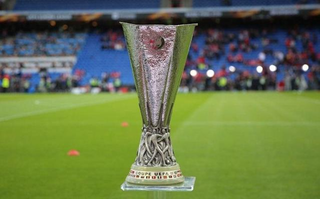 <span>The Europa League trophy is currently held by Sevilla </span> <span>Credit: REX </span>