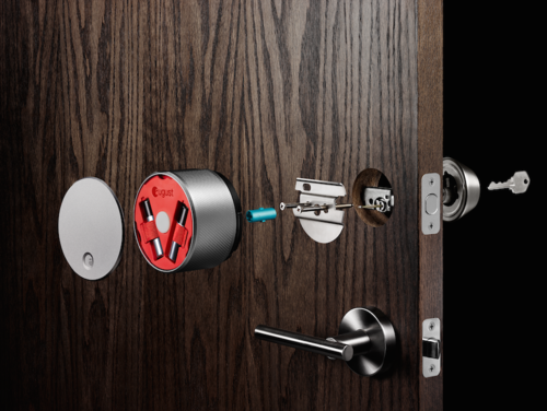 August Smart Lock assembly