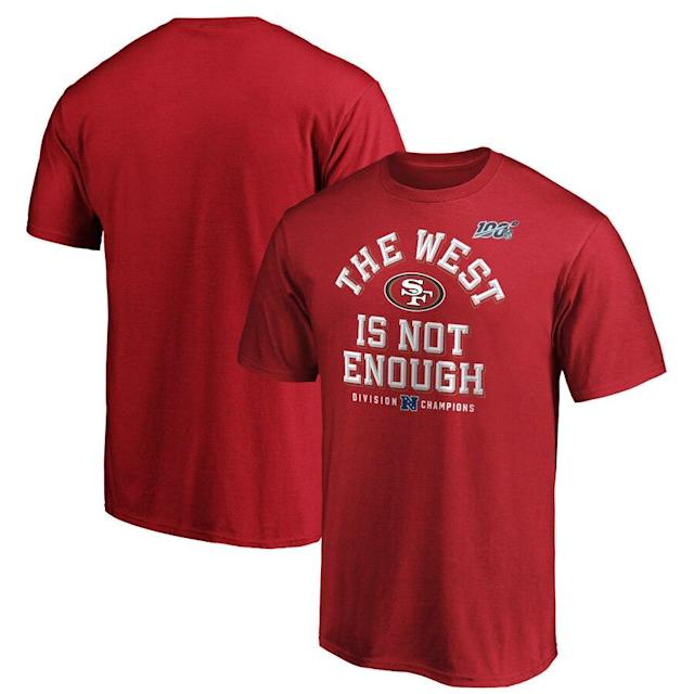 49ers 2019 NFC West Division Champions T-Shirt