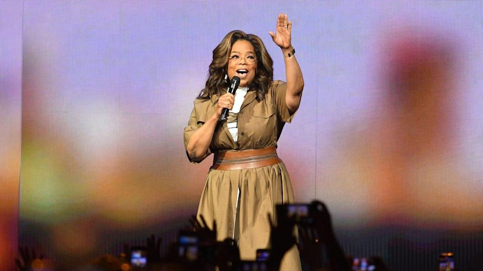 """<p>Committed to youth education, in 2019, Winfrey revealed her charitable foundation was pledging $5 million to Pathways to College. In 2020, she also matched all donations the organization received on Giving Tuesday, according to its website.</p> <p>Based in Newark, N.J., the non-profit after-school program has helped more than 4,000 students gain admission to colleges and universities across the U.S.</p> <p><em><strong>It's a Lot: <a href=""""https://www.gobankingrates.com/net-worth/celebrities/oprah-net-worth/?utm_campaign=1041619&utm_source=yahoo.com&utm_content=18"""" rel=""""nofollow noopener"""" target=""""_blank"""" data-ylk=""""slk:How Much Is Oprah Worth?"""" class=""""link rapid-noclick-resp"""">How Much Is Oprah Worth?</a></strong></em></p> <p><small>Image Credits: Larry Marano/Shutterstock</small></p>"""