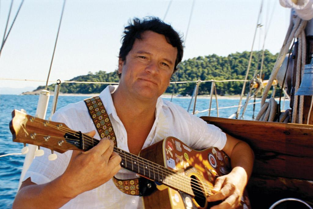 """<a href=""""http://movies.yahoo.com/movie/contributor/1800019319"""">Colin Firth</a> in Universal Pictures' <a href=""""http://movies.yahoo.com/movie/1809902249/info"""">Mamma Mia!</a> - 2008"""