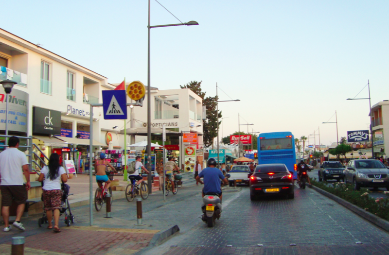Ayia Napa is a popular party resort for youngsters (Wikipedia)