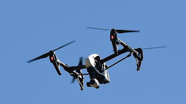 """Drone-catching drones"" are set to be utilized by security officials at the Winter Olympics in PyeongChang, South Korea. (AP)"