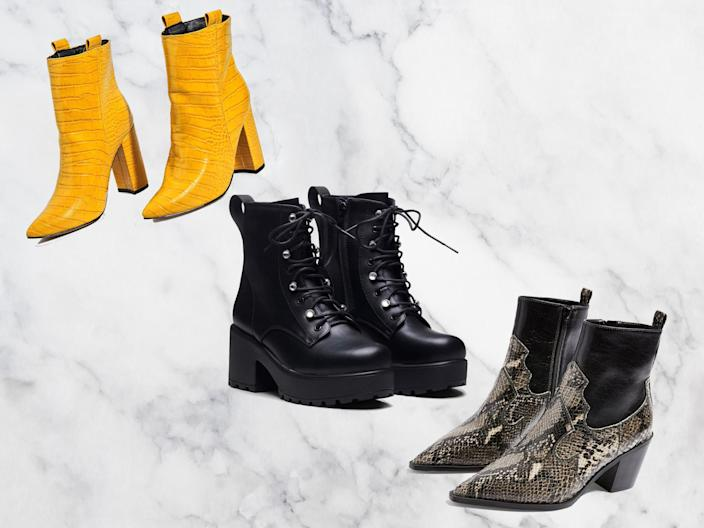 Ankle boots become more of a staple as the weather gets colder and wetter (The Independent/iStock)