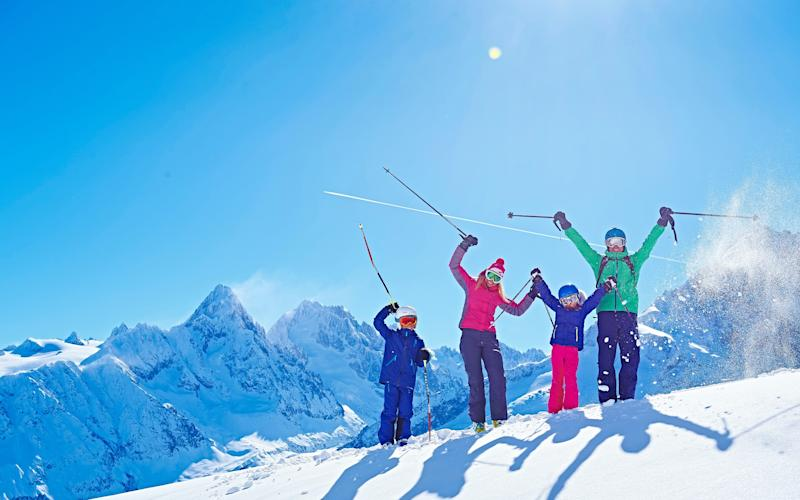 Taking children on a ski holiday is a lot easier when you've booked the right package