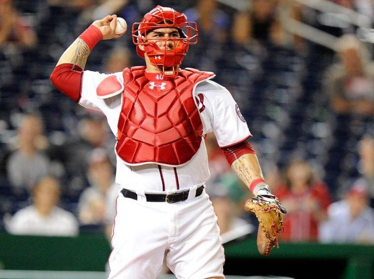 Veteran catcher Wilson Ramos is headed to the Rays, according to reports. (Getty Images)