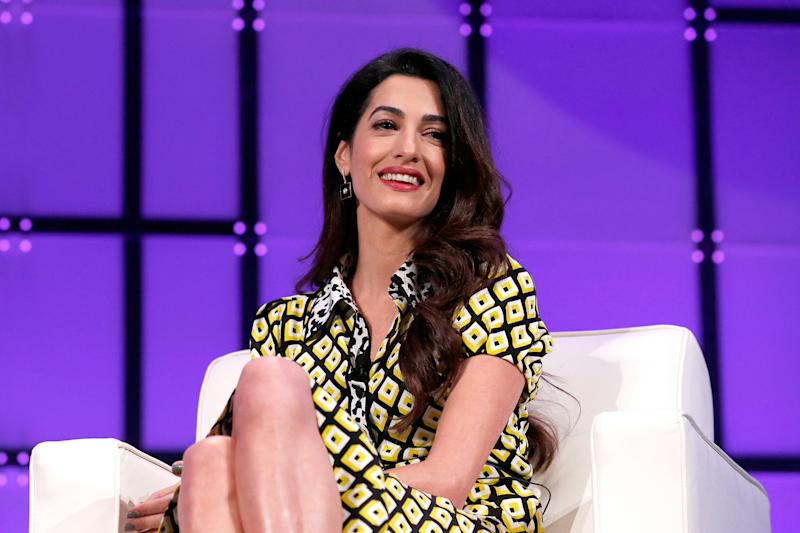 Amal Clooney Calls for Gun Control: 'This Doesn't Happen in Other Developed Countries'