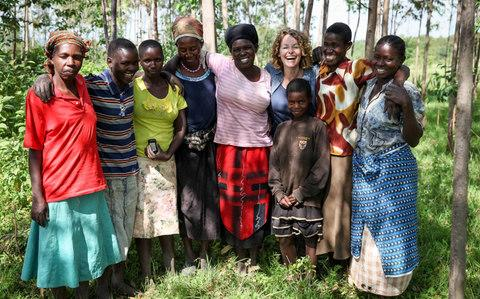 The women of the Kuria in Kenya - Credit: BBC