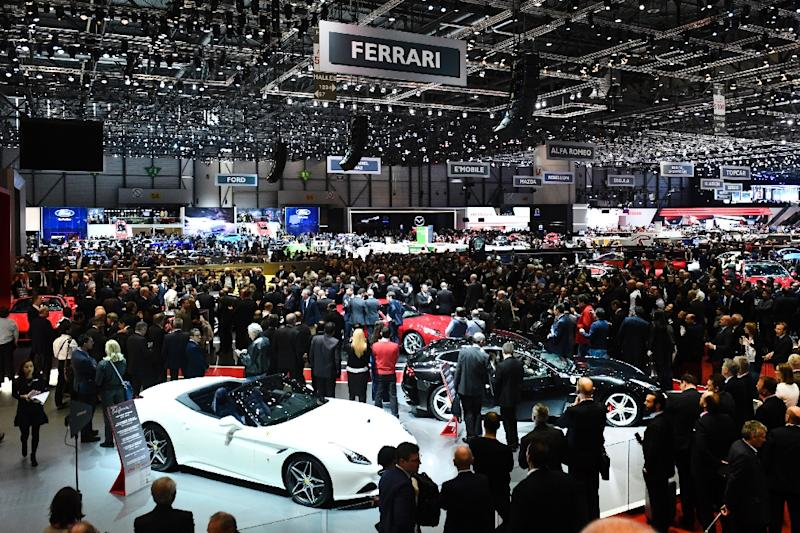 At Geneva, new electrics, but don't forget the horsepower