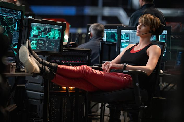 Charlize Theron as Cipher in Fast 9
