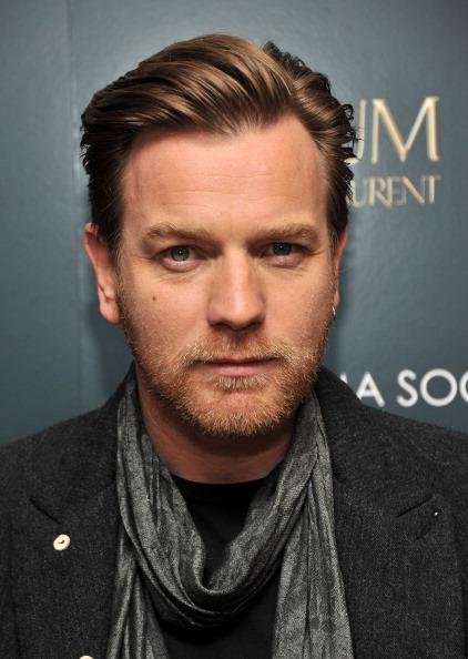 "NEW YORK, NY - MARCH 08:  Actor Ewan McGregor attends the Cinema Society & Opium Yves Saint Laurent screening of ""Salmon Fishing in the Yemen"" at the Crosby Street Hotel on March 8, 2012 in New York City.  (Photo by Stephen Lovekin/Getty Images)"