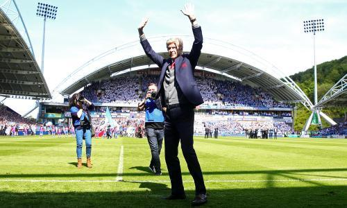 Arsène Wenger gets a winning farewell with 1-0 to the Arsenal at Huddersfield