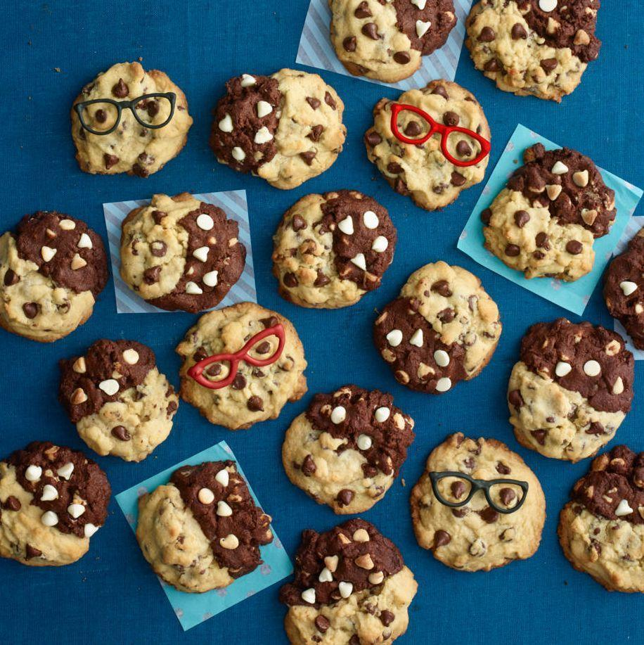 """<p>Treat your smart cookies to these after-school sweets made with half chocolate chip, half double chocolate cookie dough.</p><p><em><a href=""""https://www.womansday.com/food-recipes/a33564113/mash-up-cookies-recipe/"""" rel=""""nofollow noopener"""" target=""""_blank"""" data-ylk=""""slk:Get the recipe from Woman's Day »"""" class=""""link rapid-noclick-resp"""">Get the recipe from Woman's Day »</a></em></p>"""