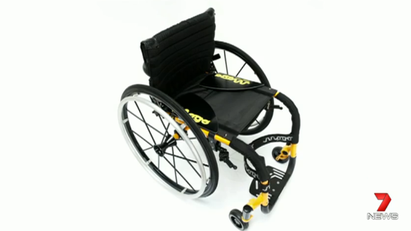 Julian's wheelchair was custom made. Police urge anyone with information to come forward.