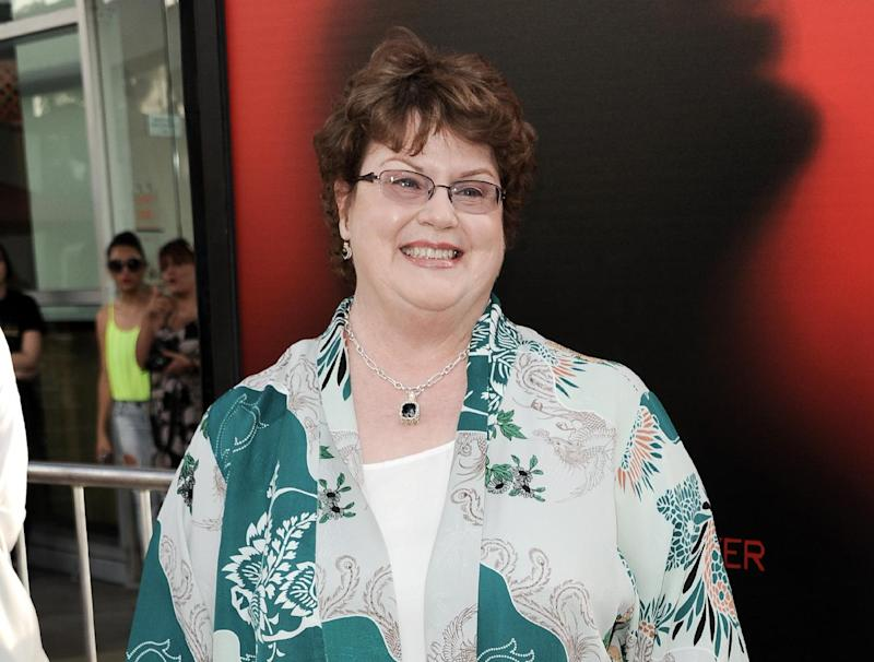 """FILE - This June 11, 2013 file photo shows author Charlaine Harris at the season six premiere of """"True Blood"""" in Los Angeles. Harris' """"Dead Ever After,"""" is the 13th and final book in the Stackhouse series. (Photo by Richard Shotwell/Invision/AP, File)"""