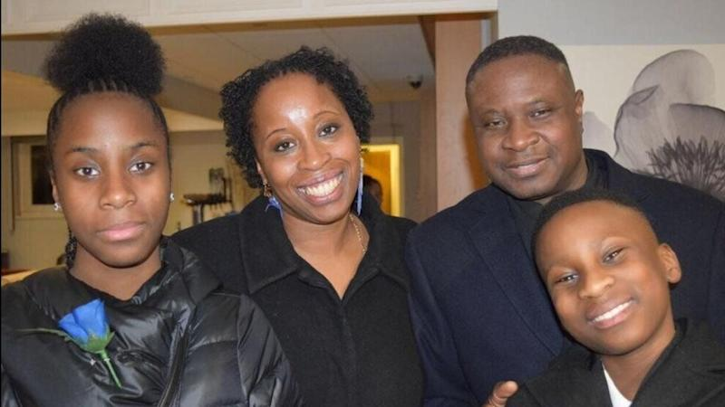 Germaine Douglas and family. (Photo: Supplied)