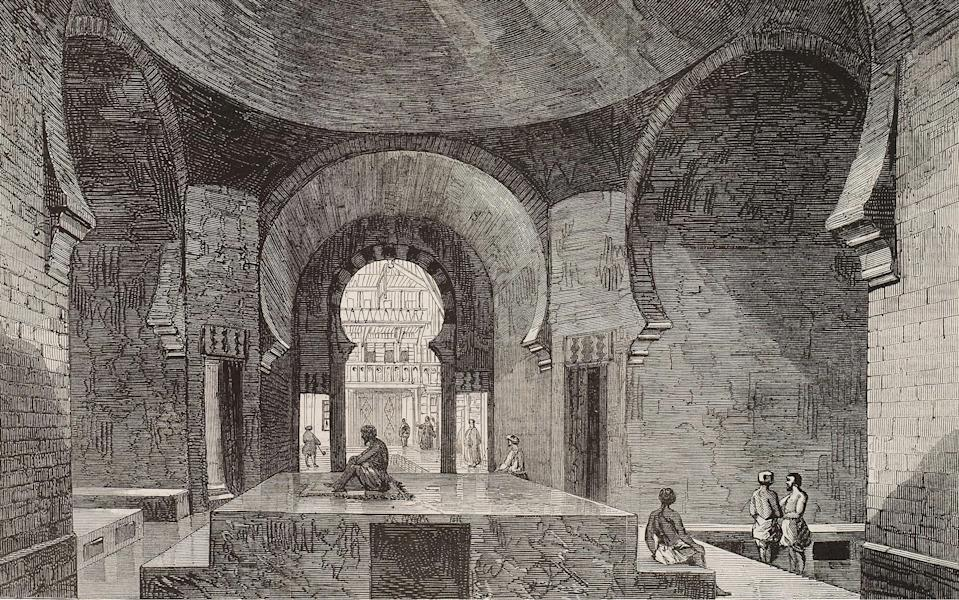 Jermyn Street's Hammam was once one of dozens of Turkish Baths in London - This content is subject to copyright.