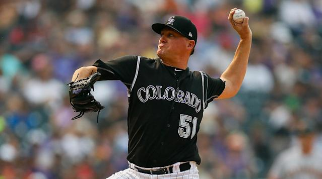Rockies stay busy, re-signing Jake McGee to their bullpen after bringing in Bryan Shaw on Tuesday. (AP)