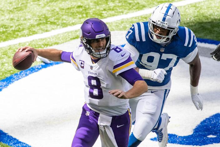 There's a way to help Kirk Cousins and the Vikings offense become more effective. (Trevor Ruszkowski-USA TODAY Sports)