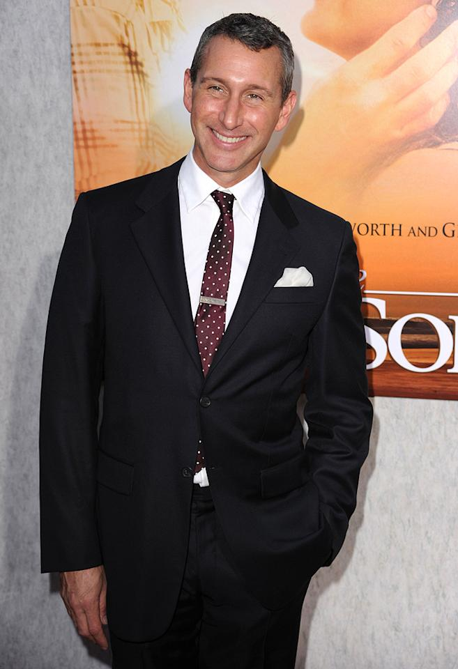 "<a href=""http://movies.yahoo.com/movie/contributor/1800238574"">Adam Shankman</a> at the Los Angeles premiere of <a href=""http://movies.yahoo.com/movie/1810098775/info"">The Last Song</a> - 03/25/2010"