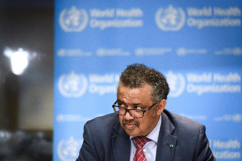 World Health Organization Director General Tedros Adhanom Ghebreyesus 'We will not rest until the outbreak is finished'