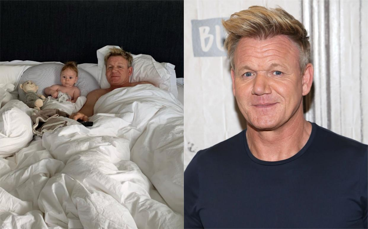 A number of people think Gordon Ramsay's son is his doppelganger