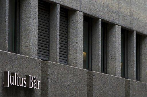 Swiss bank Julius Baer sees profits jump 15% in 2012