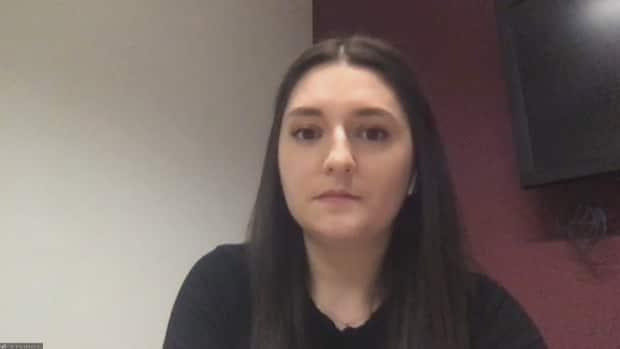 Marie-Ève Beaulieu of B.C. says she's willing to stay and work as a nurse in New Brunswick, but she's facing a delay in getting to take her registered nurse exam.