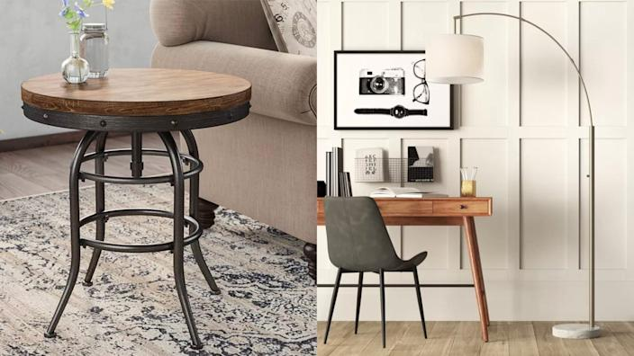 You can always get incredible discounts on furniture, home decor, and more at Wayfair.